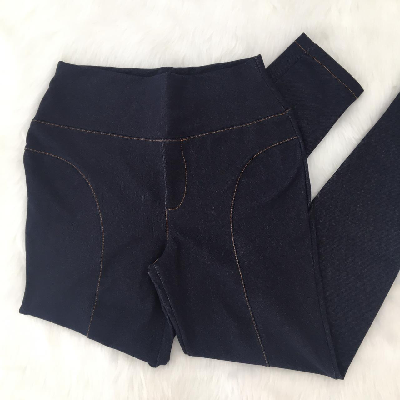 Ref 481 - Calça Montaria Jeans Strech