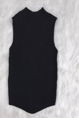 Ref 7005 - Blusa Modal Canelada Bico na Barra